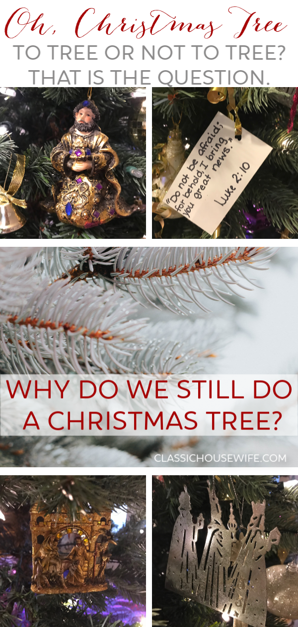 Why Do We Still Do a Christmas Tree?